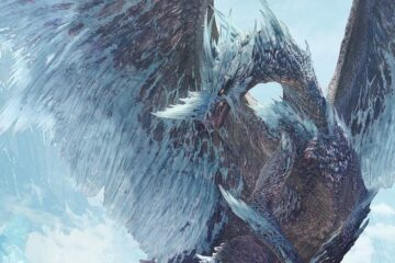 Beta del Velkhana en Monster Hunter World: Iceborne