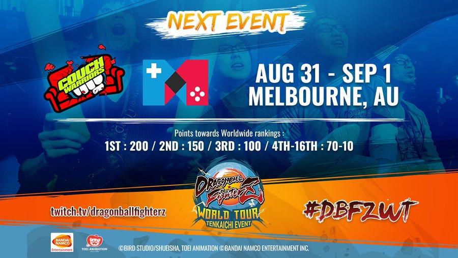 CouchWarriors 2019, sigue el torneo de Dragon Ball FighterZ en directo