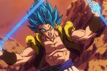 Gogeta en Dragon Ball FighterZ y su danza son los protagonistas de la V-Jump