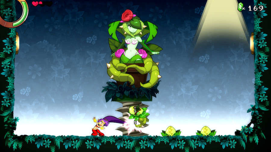 Shantae and the seven sirens boss
