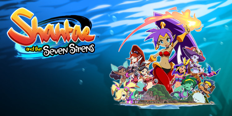 Shantae-and the seven sirens cover