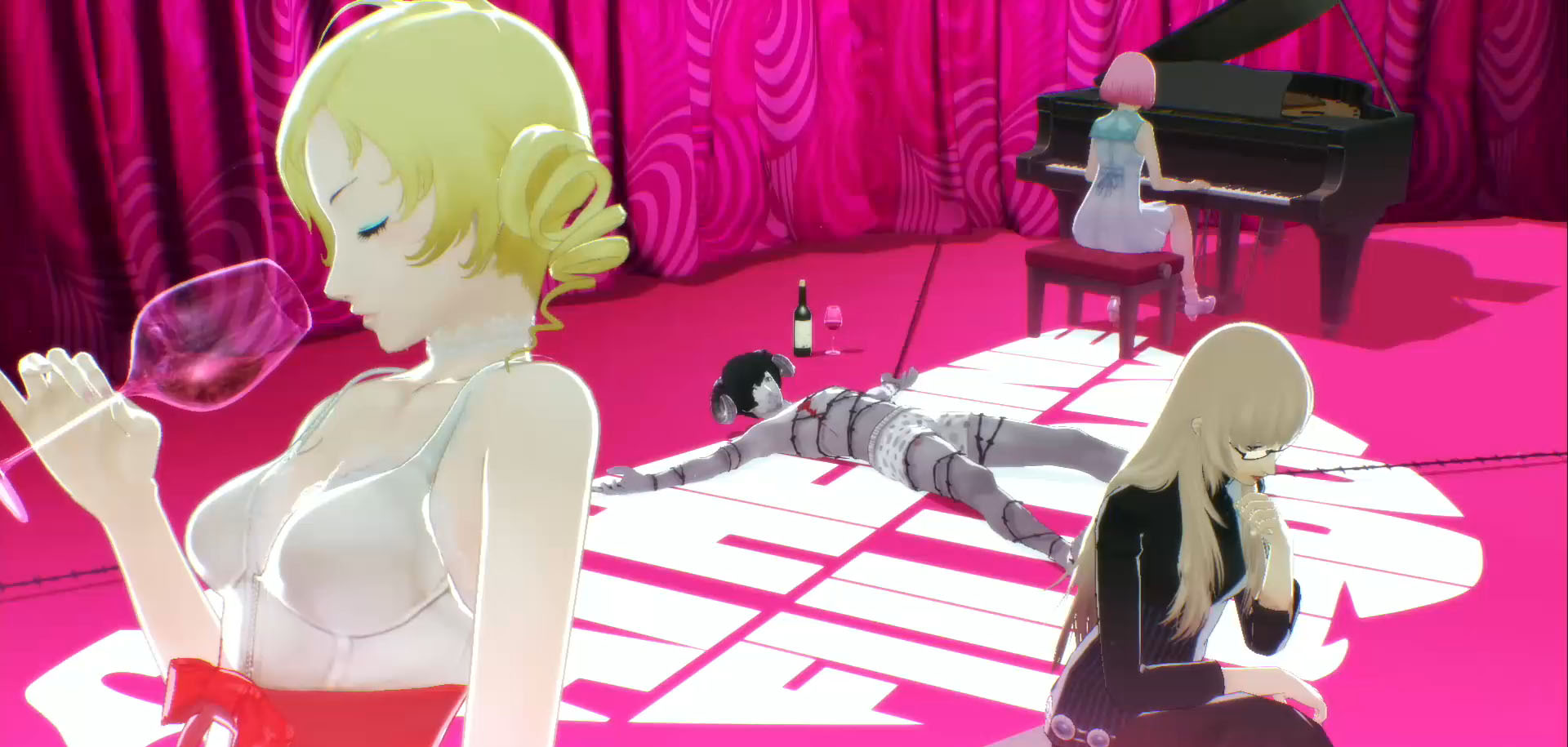 Análisis de Catherine: Full Body