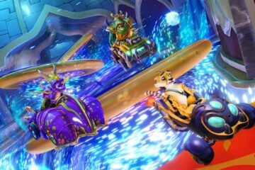 Spyro en Crash Team Racing: Nitro Fueled