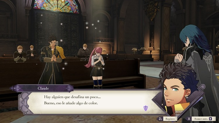 subir competencias en Fire Emblem Three Houses