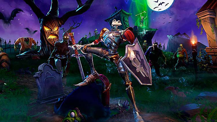 gameplay de la demo de Medievil