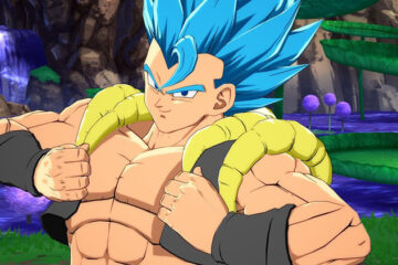 Así lucen los movimientos de Gogeta Super Saiyan Blue en Dragon Ball FighterZ