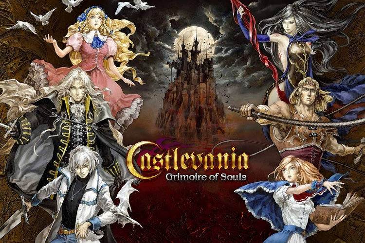 Gameplay de Castlevania: Grimoire of Souls