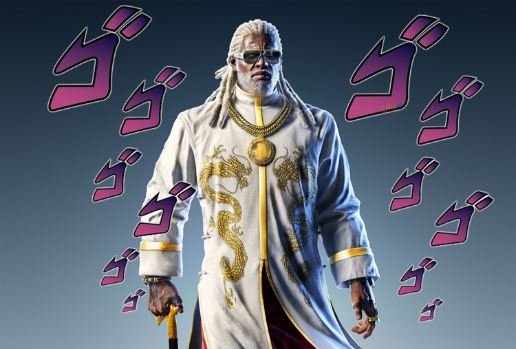 Season Pass 3 de Tekken 7 Leroy Smith Jojo meme