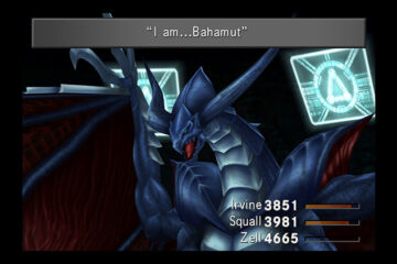 Bahamut en Final Fantasy VIII Remastered