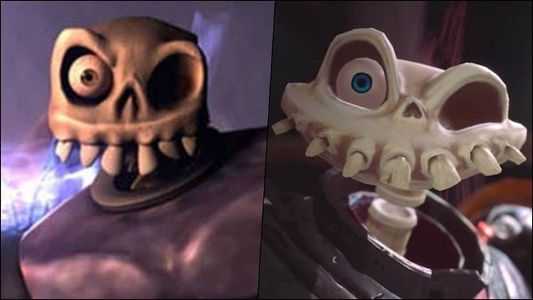 gameplay comparativo de MediEvil Remake