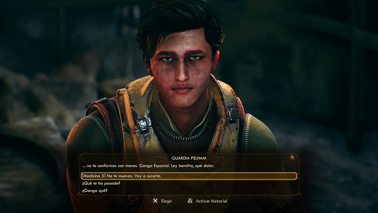 Análisis de The Outer Worlds dialogo