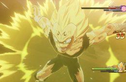Gameplay e imágenes del malévolo Majin Vegeta en Dragon Ball Z KAKAROT