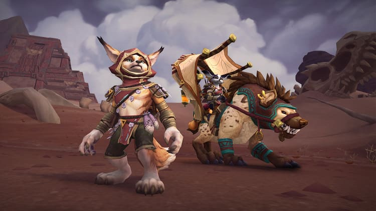 vulperas y mecagnomos jugables en World of Warcraft