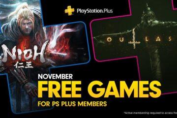 Outlast 2 y Nioh son los juegos de PlayStation Plus del mes de noviembre de 2019