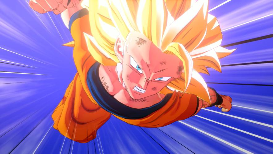 Son Goku Super Saiyan 3 en Dragon Ball Z KAKAROT