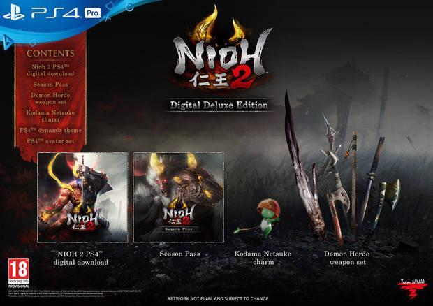 ediciones de Nioh 2