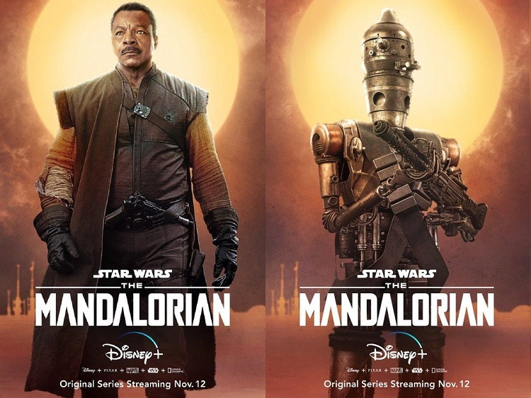 tráiler de The Mandalorian