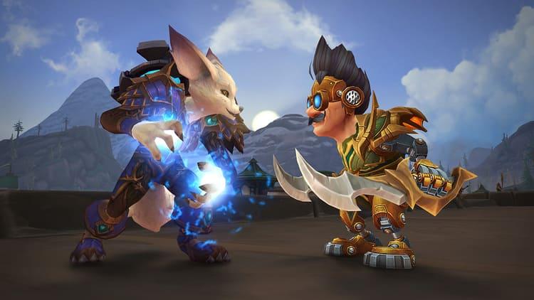 vulperas y mecagnomos jugables en World of Warcraft