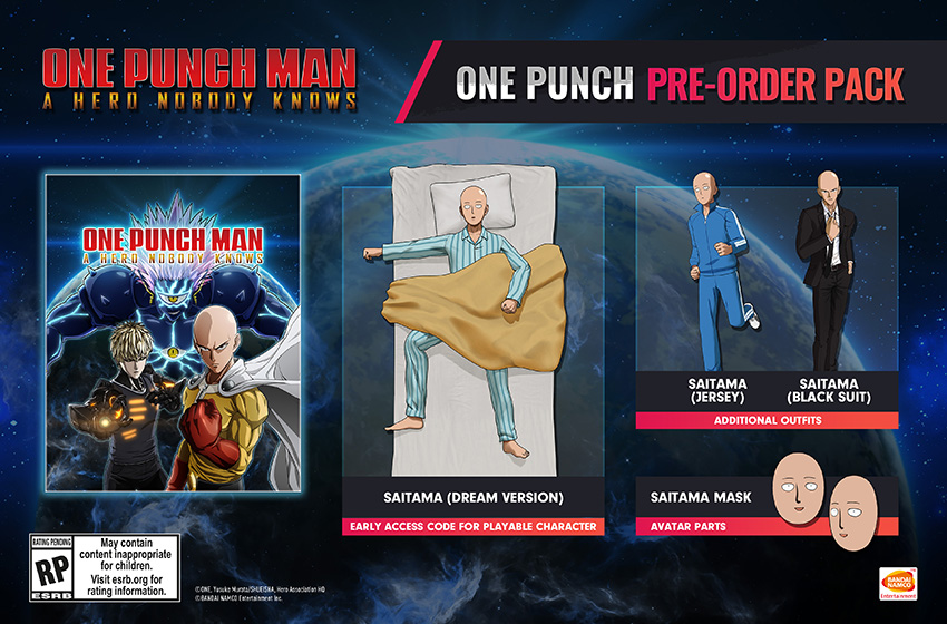 Anunciada la fecha de lanzamiento de One Punch Man A Hero Nobody Knows
