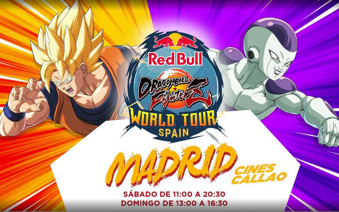 Horario Red Bull Dragon Ball FighterZ SAGA España