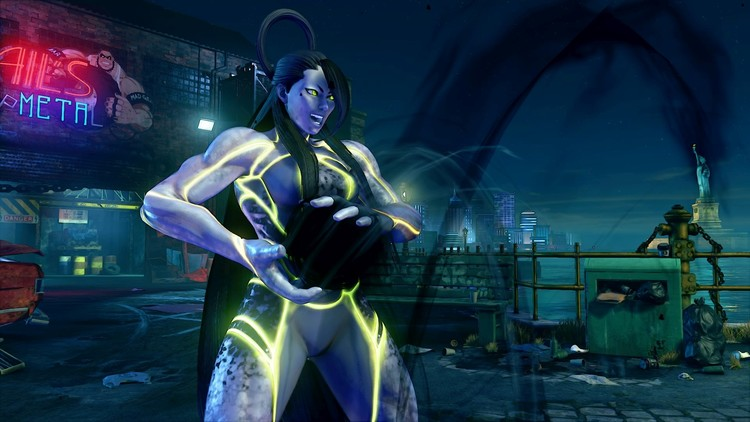 Seth en Street Fighter V: Champion Edition