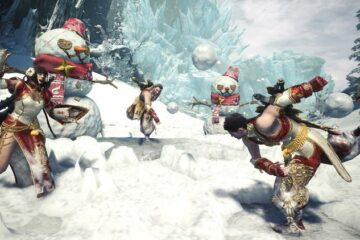festival de invierno de Monster Hunter World