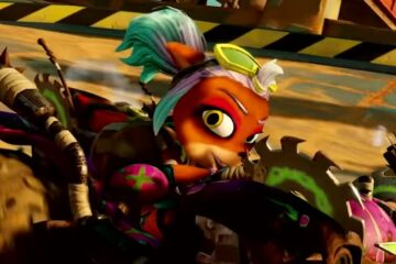 Grand Prix Oxidonia en Crash Team Racing: Nitro Fueled