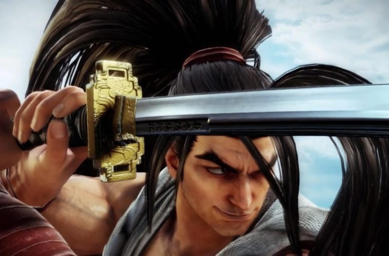 Tráiler gameplay de Haohmaru en SoulCalibur VI, disponible vía DLC