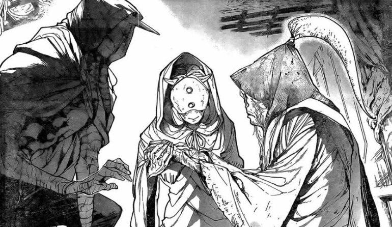 manga The Promised Neverland 163