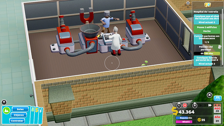Análisis Two Point Hospital 2