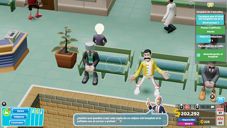 Análisis Two Point Hospital 5