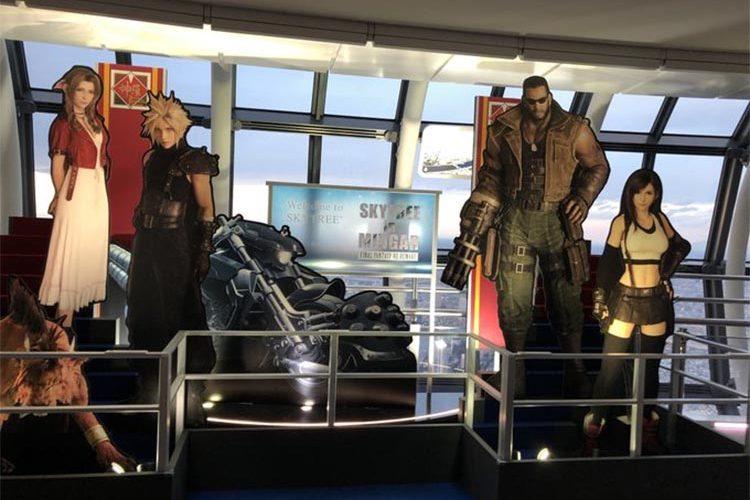 tráiler del museo de Final Fantasy VII Remake