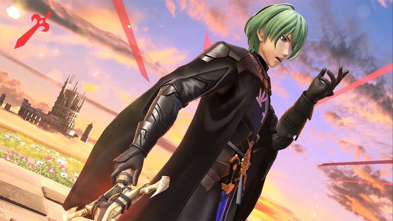 impresiones de Byleth en Super Smash Bros. Ultimate