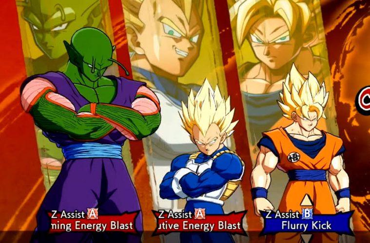 ¡Z Assist Select! Novedades de Dragon Ball FighterZ en 2020