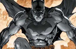 proceso del nuevo traje de Batman