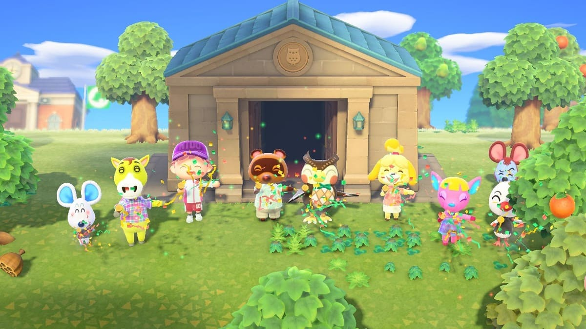 museo en Animal Crossing New: Horizons
