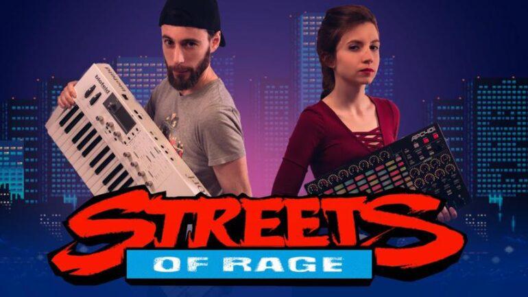 Alucina con este tema de STREETS OF RAGE a lo Synthwave