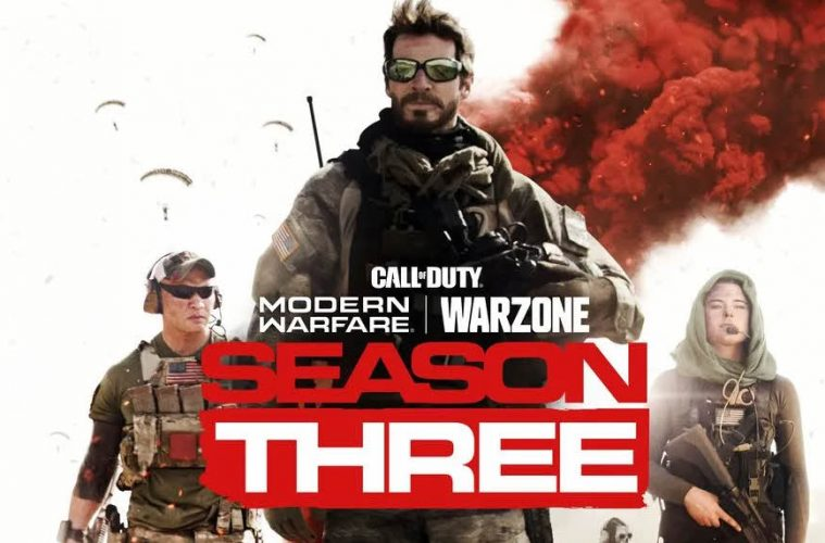 Todas las novedades de Call of Duty Modern Warfare Temporada 3