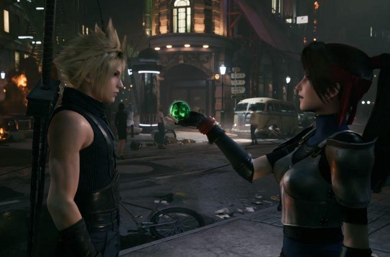materias de magia Final Fantasy VII Remake