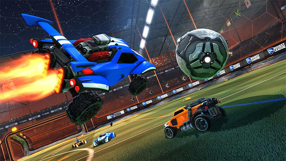 Guía Rocket League cámara, controles, interfaz y vídeo