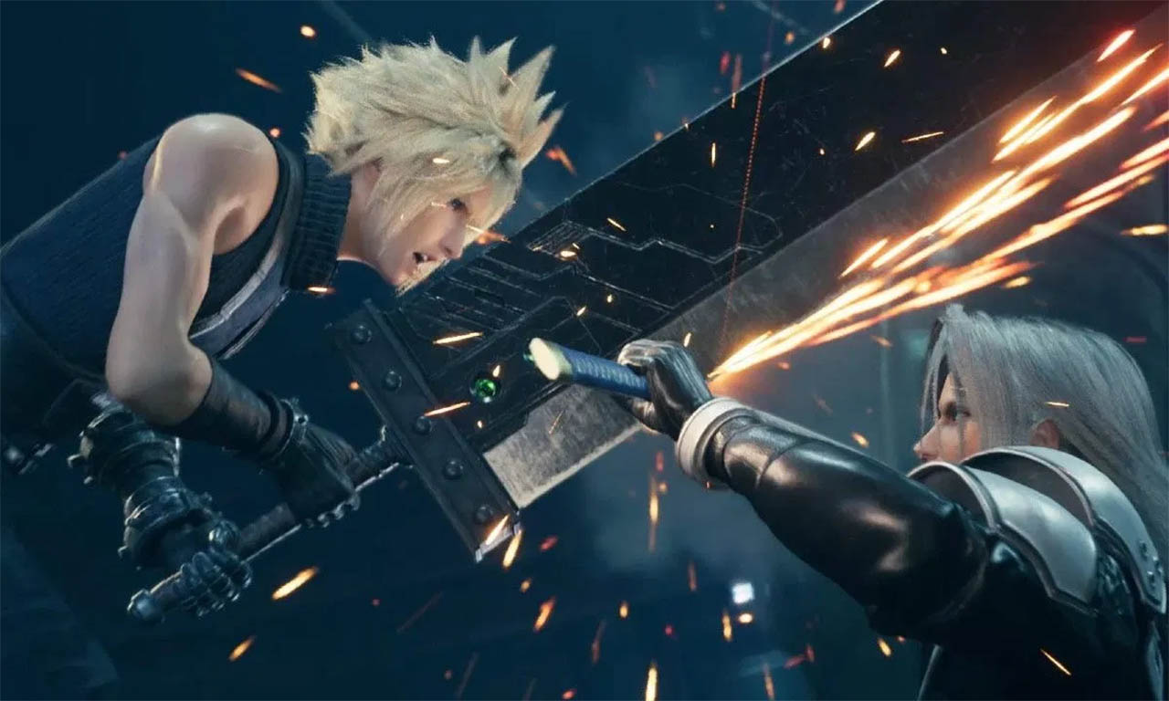 todas las armas de Final Fantasy VII Remake