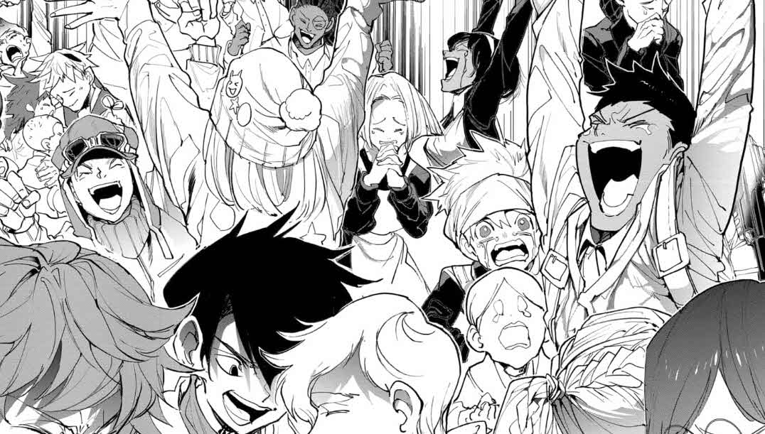 Manga The Promised Neverland 175 en castellano, Nuevo Mundo Parte 2
