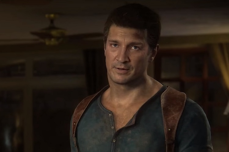 Nathan Fillion en Uncharted