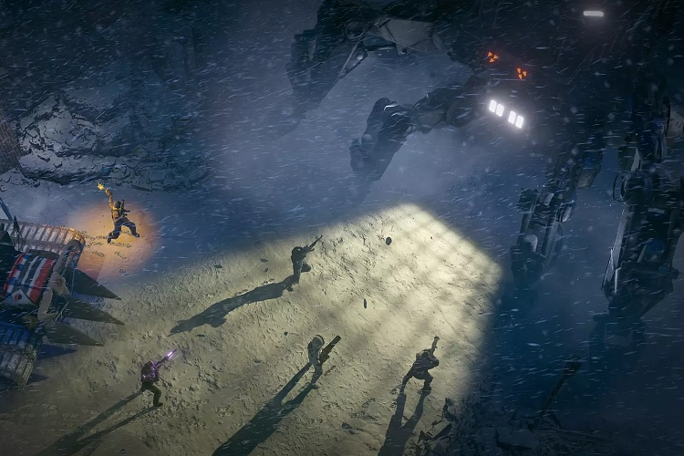gameplay de Wasteland 3