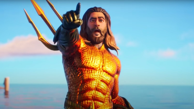 Aquaman en Fortnite
