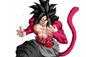 Goku Black SSJ4 vs. Vegeta Super Saiyan God Evolution