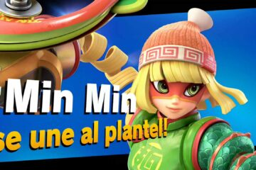 impresiones Min Min en Super Smash Bros. Ultimate