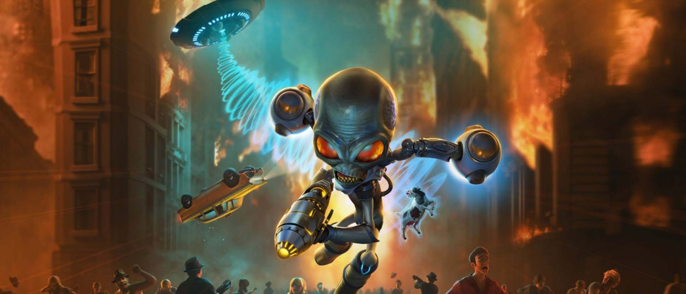 reflexiones post-análisis de Destroy All Humans!