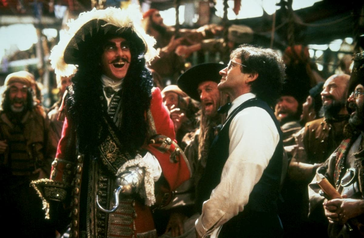 Dustin Hoffman en Hook