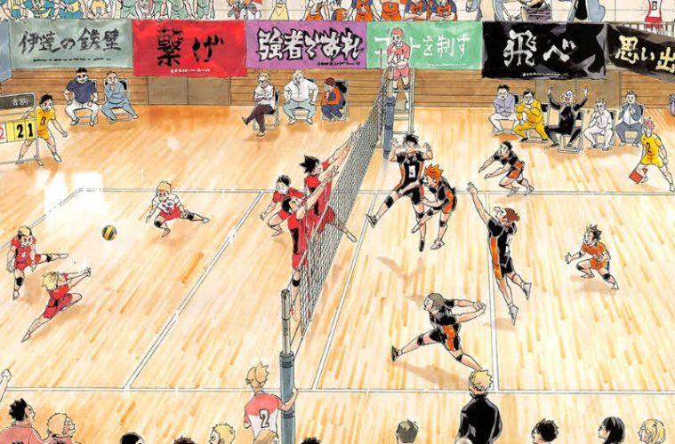 Disponible el manga Haikyuu 402 con páginas a color